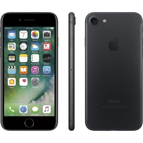 Apple iPhone 7, A1600, 32G, Black - CDMA /GSM Unlocked (Renewed)
