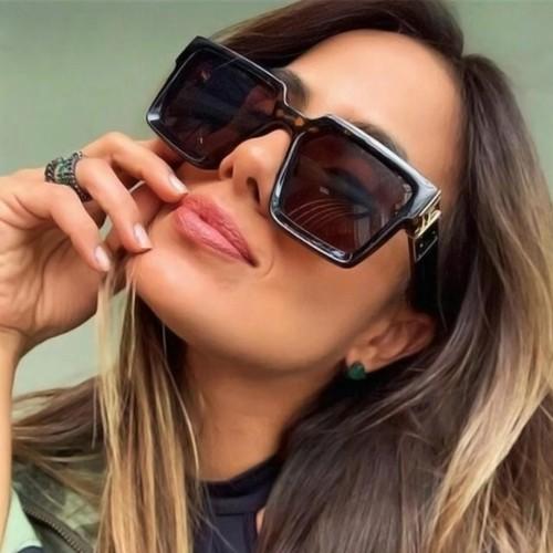 Fashion Square Wide Side Unisex Sunglasses