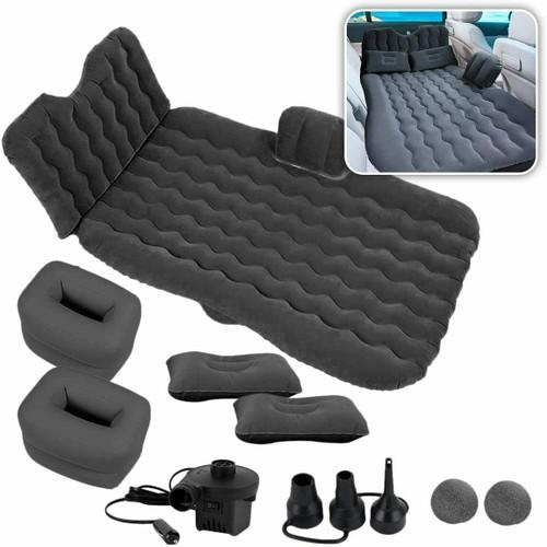 Inflatable Travel Car Camping Mattress Bundle