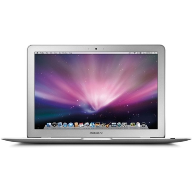 "Apple MacBook Air MC968LL/A 11.6"" 64GB i5-2467M, Silver (Refurbished)"