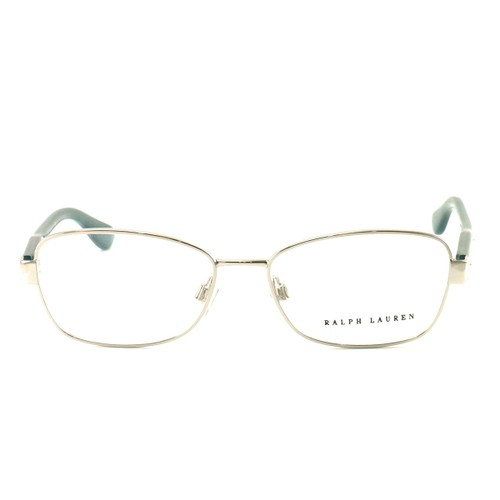Polo Eyeglasses RL5088 5001 Silver/Teal Metal 51 15 140 without case finish line