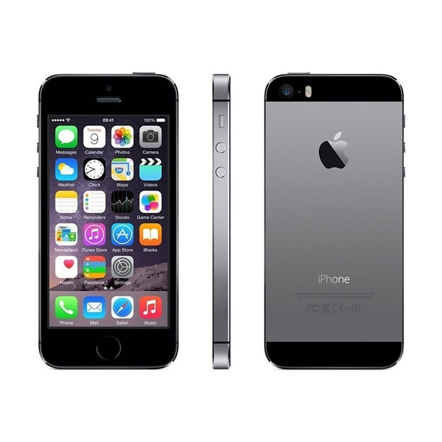 """Apple iPhone 5S 16GB 4"""" 4G LTE T-Mobile,Space Gray(Refurbished)"""