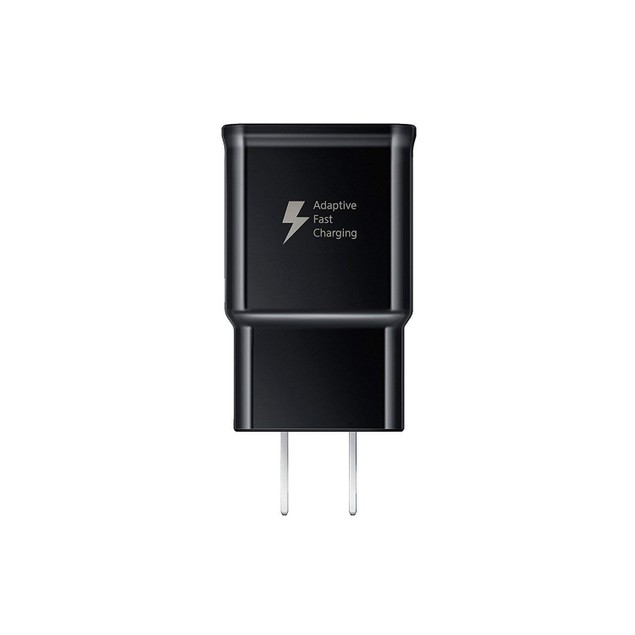 Samsung Wall Fast Charger USB Type C Cable Includes OTG Adapter- Black