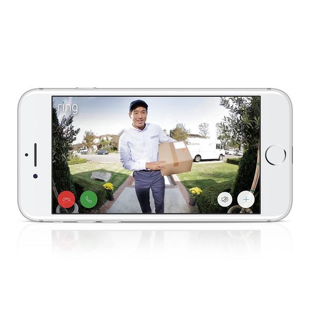 Ring Wireless Video DoorBell 2nd Generation - 1080HD Video - Satin Nickel