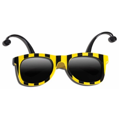 Bumble Bee Sunglasses With Antennae
