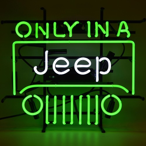 Neonetics Only In A Jeep Neon Sign