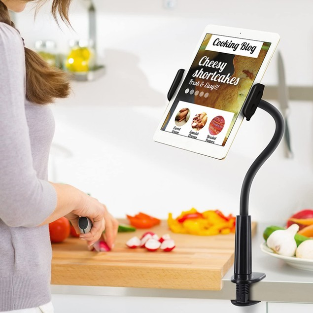 Aduro Solid-Grip 360 Adjustable Universal Gooseneck Tablet Stand