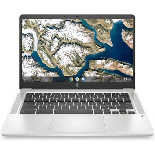 "HP Chromebook 14A-NA0023 14"" 32GB Intel Celeron N4000, Silver"