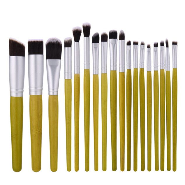 18 pcs Cosmetic Makeup Brush Blusher Eye Shadow Brushes Set Kit 50