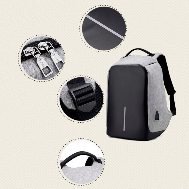 Anti-theft With USB Charging Port/Light-weight Student/Business Backpack