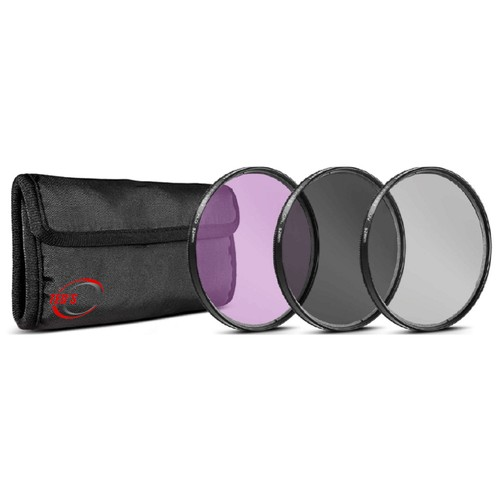 Vivitar 3 Pc Filter Kit 52MM UV/CPL/FDL