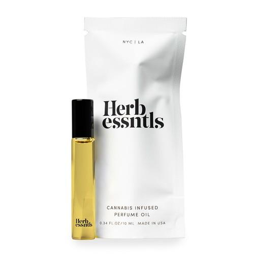Herb Essentials Hem Infused Perfume Oil - 0.34 Oz ( 10 mL )