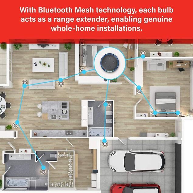 3-Pack Sengled Smart Bulb Alexa Light Bulb Bluetooth Mesh