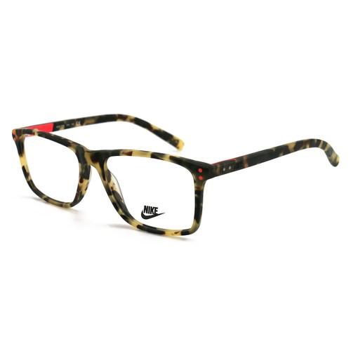 Nike Unisex Eyeglasses NK7236 218 Satin Tokyo Tortoise/Black 54 16 140 Full Rim