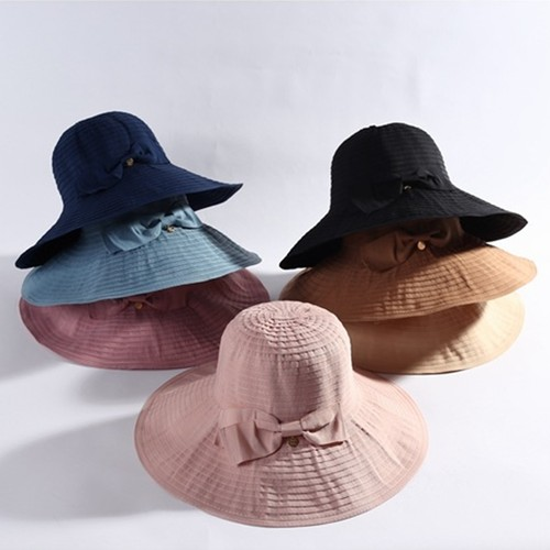 Women's All-match Large-edge Foldable Sun Hat