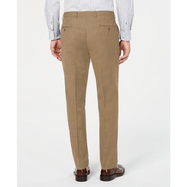 Laren Ralph Lauren Classic-Fit Stretch Flat Front Suit Pants Tan 33x30