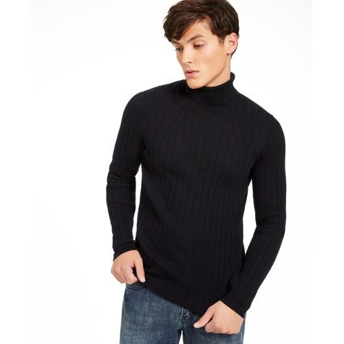 Inc Men's Elite Turtleneck Sweater Black Size XS