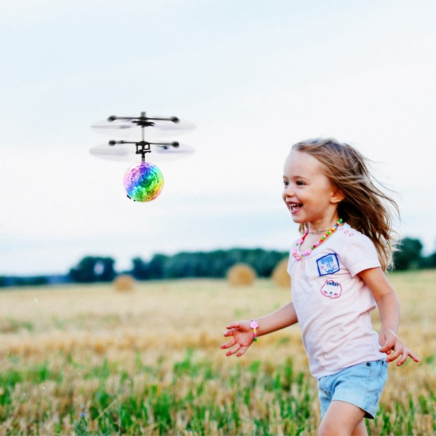 RC Flying Balls Electric Infrared Induction Drone Helicopter Ball