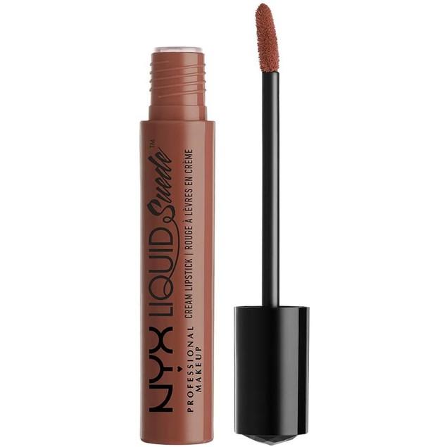 NYX Professional Makeup Liquid Suede Cream Lipstick, Sandstorm