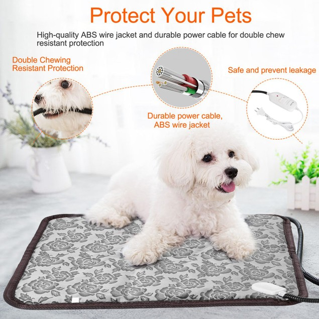Pet Heating Pad Dog Cat Electric Heating Mat