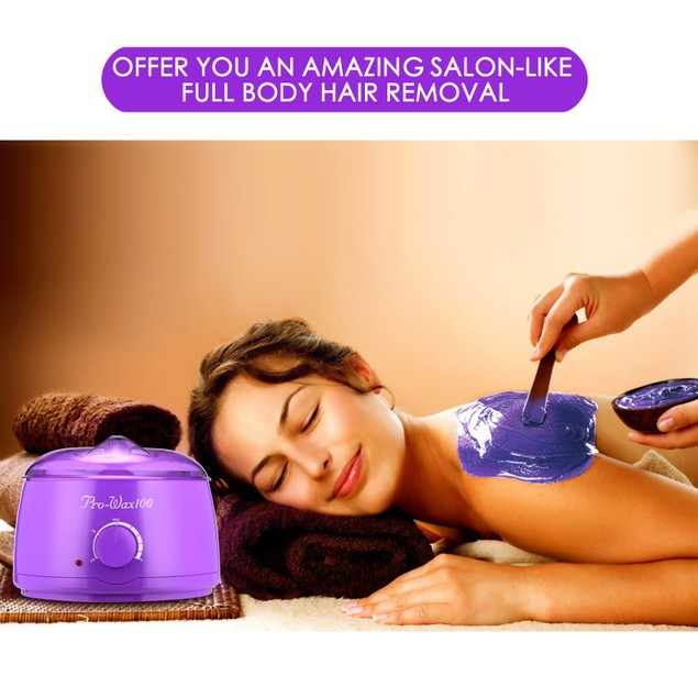 Fitnate Hair Removal Hot Wax Warmer Set Stylish Electric Hair Removal