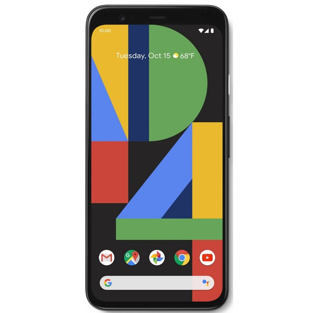 Google Pixel 4, Unlocked, Grade A+, Black, 128 GB, 5.7 in Screen