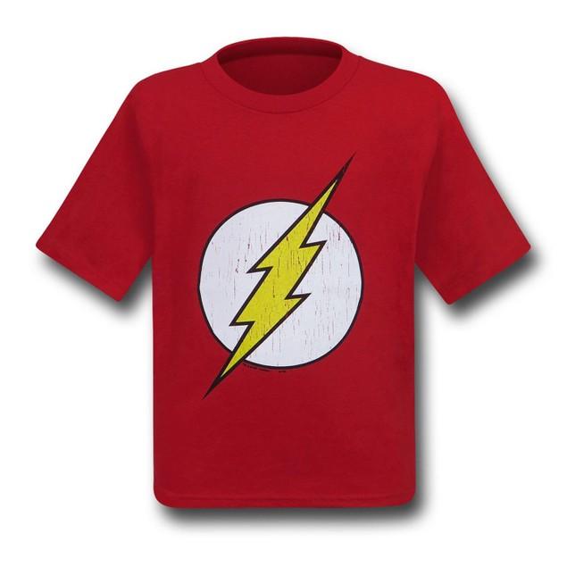 Flash Kids Distressed Symbol T-Shirt