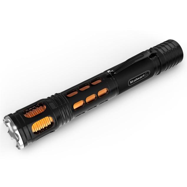 Aluminum Flashlight Orange Stalwart