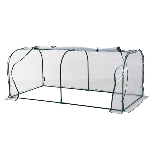 Mini Herb and Plant Greenhouse w/ Easy Portability for Year-Round Gardening