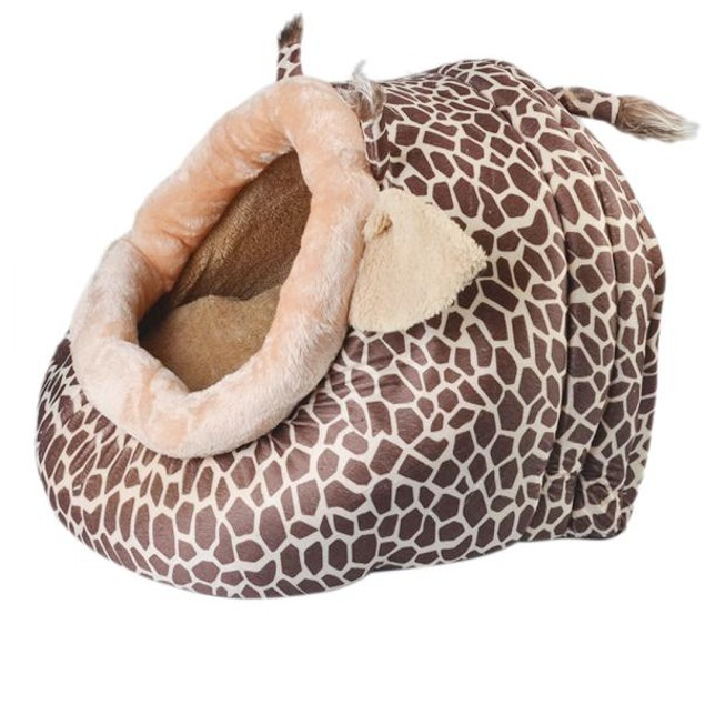 Collapsible Pet Bed Cozy Shelter