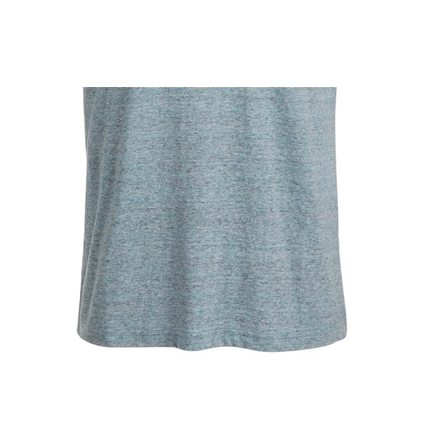 Sun + Stone Men's Devin Contrast Chain Stitch T-Shirt Navy Size Large