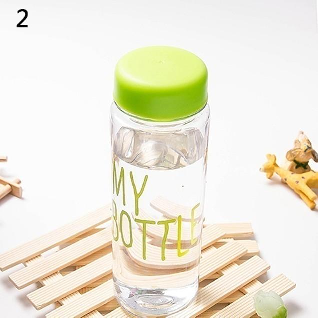 Fashion Transparent Fruit Juice Bottle
