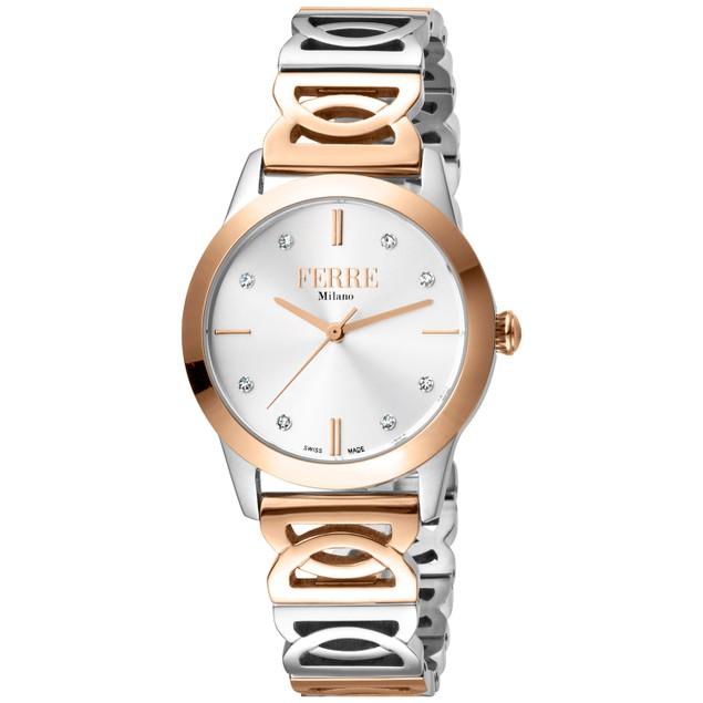 Ferre Milano Women's Classic White Dial Watch - FM1L126M0271