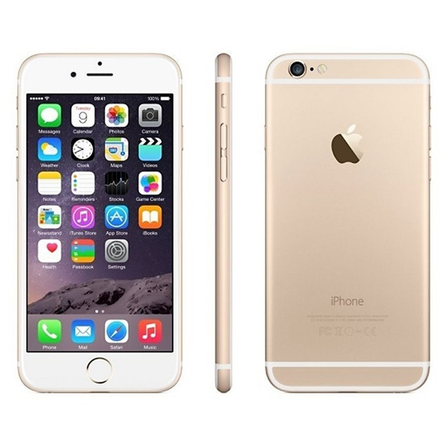 """Apple iPhone 6 16GB 4.7"""" 4G LTE AT&T,Gold(Certified Refurbished)"""