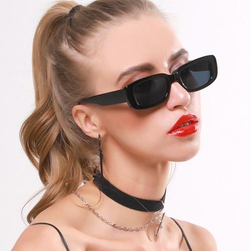 Retro Unisex Small Frame Sunglasses