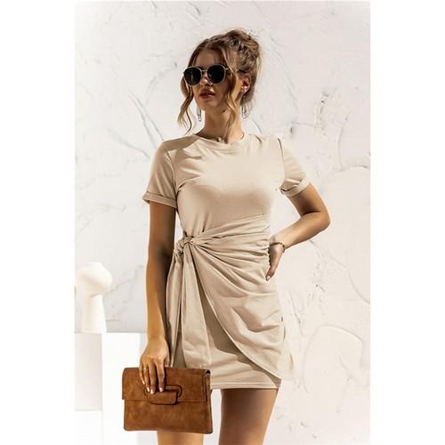 Women's Summer T Shirt Dress Short Sleeve Fashion