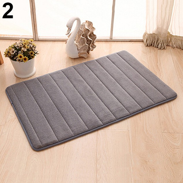 Anti-Skid Vertical Stripes Rug Soft Thick Carpet Floor Mat