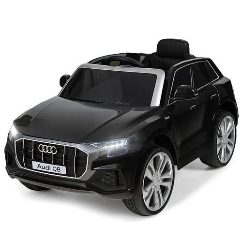 Costway 12V Licensed AudiQ8 Kids Ride On Car w/ 2.4G Remote Control MP3 LED