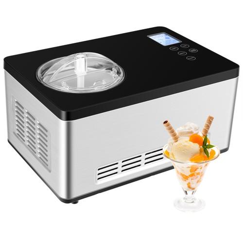 2.1 Quart Ice Cream Maker w/ LCD Timer Control