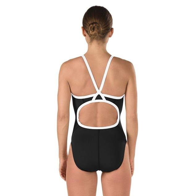 Speedo Women's Race Endurance+ Polyester Flyback Training One Piece Sz