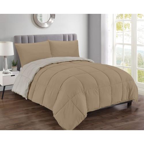 Jackson Soft Premium Reversible 3-Piece Comforter Set