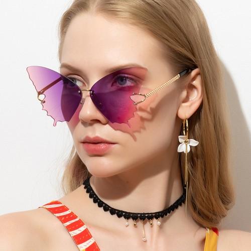 Butterfly Women Fashion Gradient Sunglasses