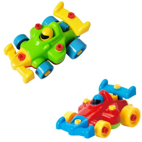 Educational Take Apart Toy Race Car (2-piece set)