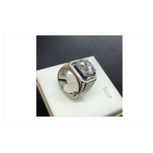 Handmade Fashion Jewelry .925 Sterling Silver Ring For Men