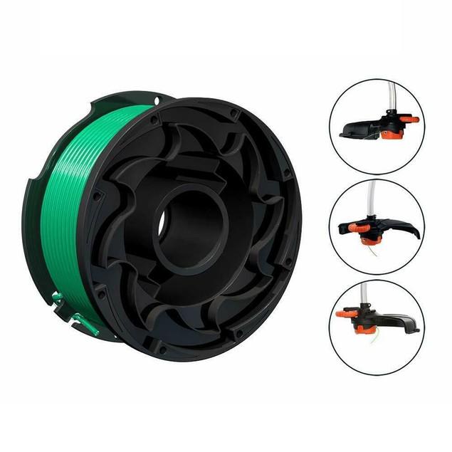 3Pcs Nylon Grass String Trimmer Line Spool for Black Decker SF-080