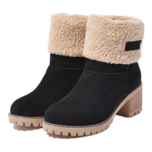 Women's Plus Size Snow Boots