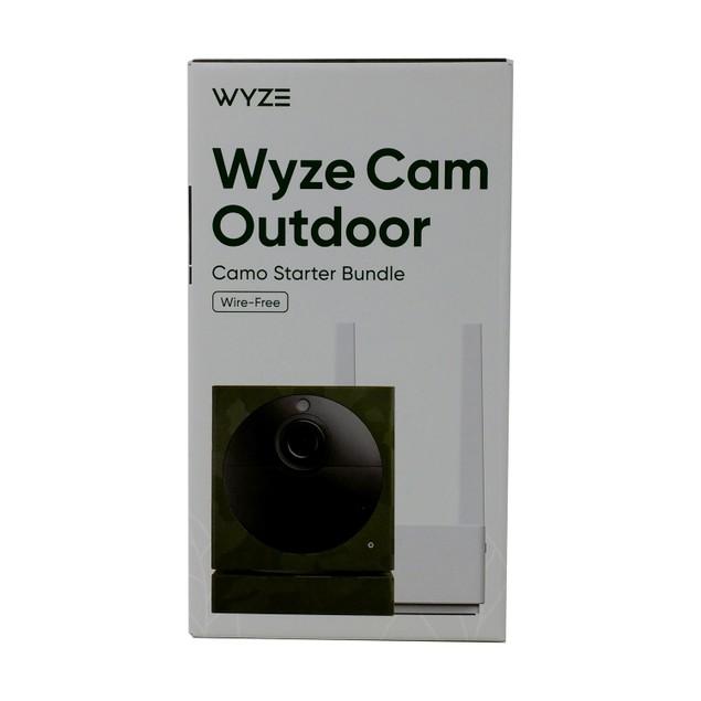 Wyze Cam Outdoor Security Camera Starter Bundle
