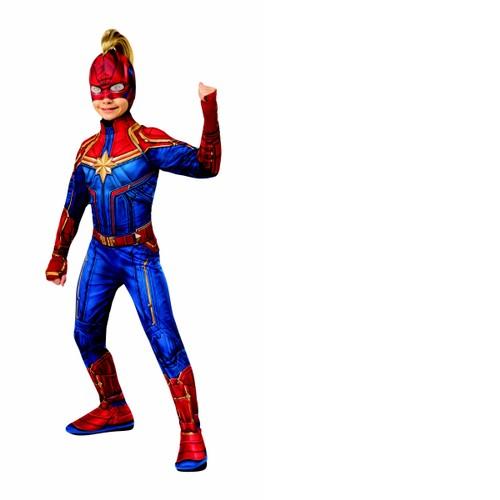 Kids Captain Marvel Headpiece with Mohawk