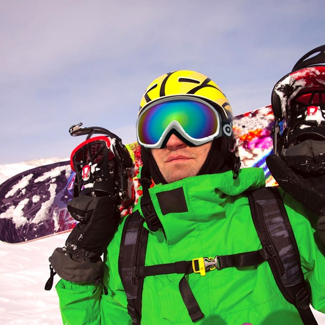 ODOLAND Ski Goggles for Adult – UV400 Protection and Anti-Fog
