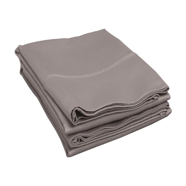 500-Thread-Count Pillowcases Set, Long-Staple Cotton